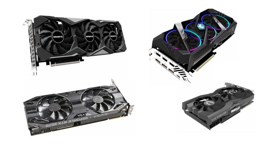 Quelle RTX 2070 Super choisir - Quelle marque - Guide d'achat Nvidia