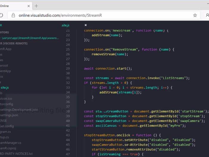 Visual Studio Online - un éditeur de code dans votre navigateur