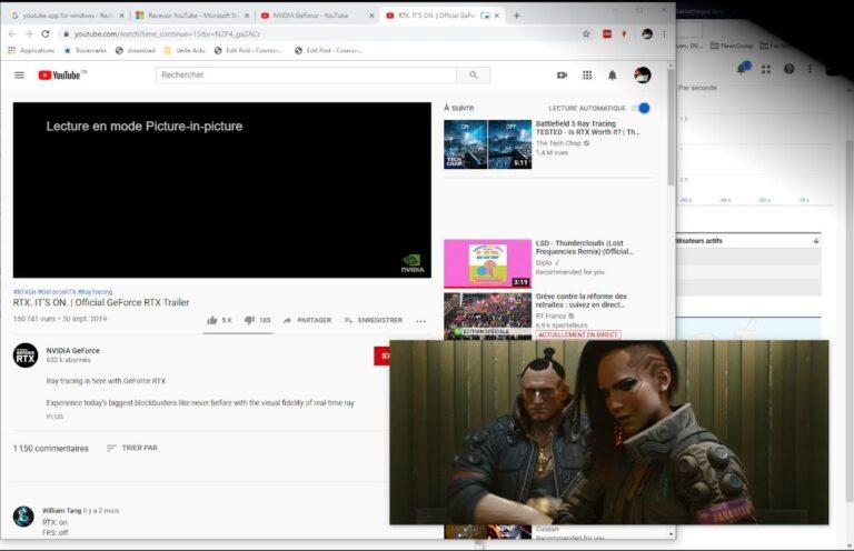 Comment regarder YouTube en mode incrustation (PIP) sur Windows