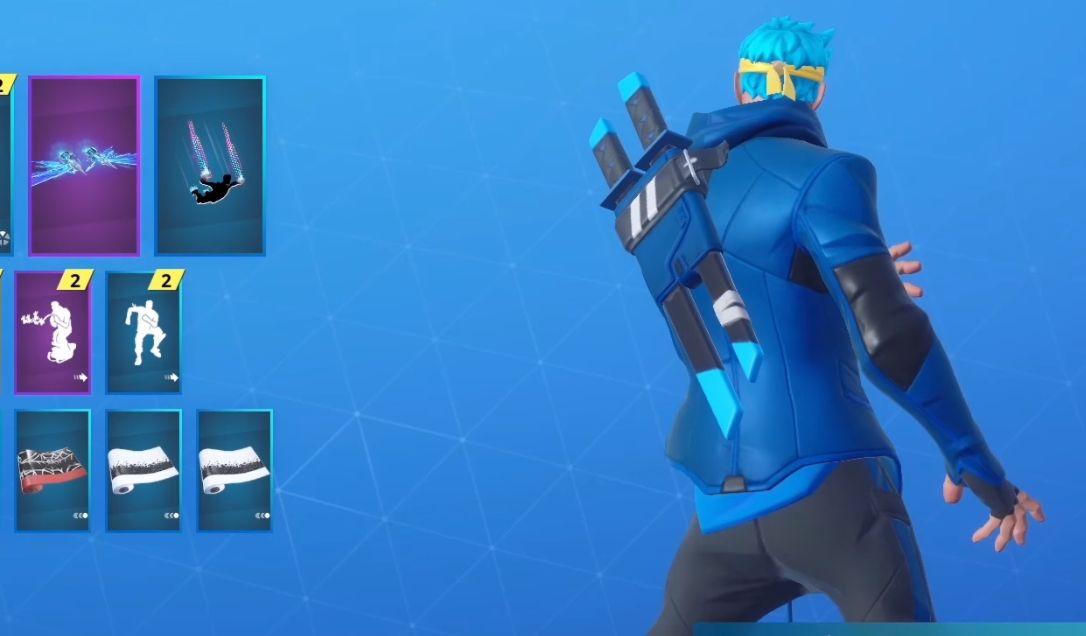 Fortnite double Katana de Ninja