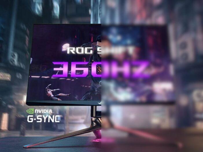 Nvidia et Asus - le premier écran PC 360 Hz taille pour l'eSport