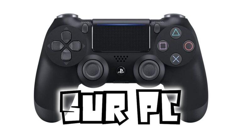 Comment connecter une manette PS4 sur PC ? DualShock 4 sur PC