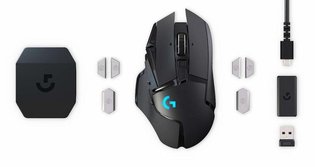Meilleure souris Gamer sans fil - G502 Lightspeed