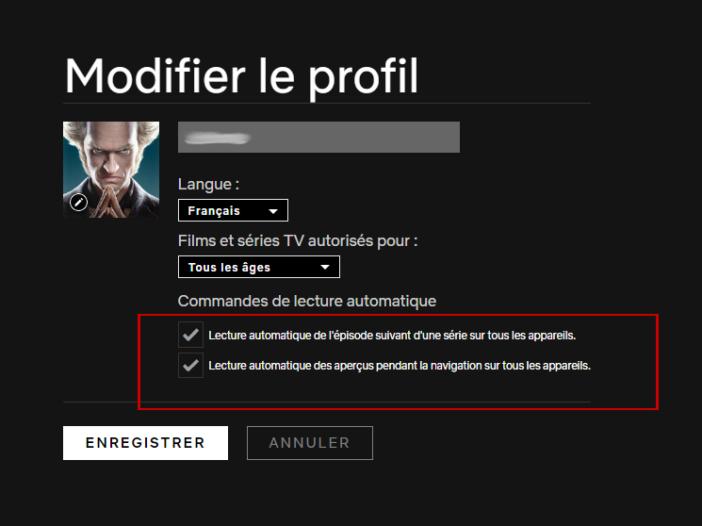 Netflix comment désactiver la lecture automatique sur Netflix