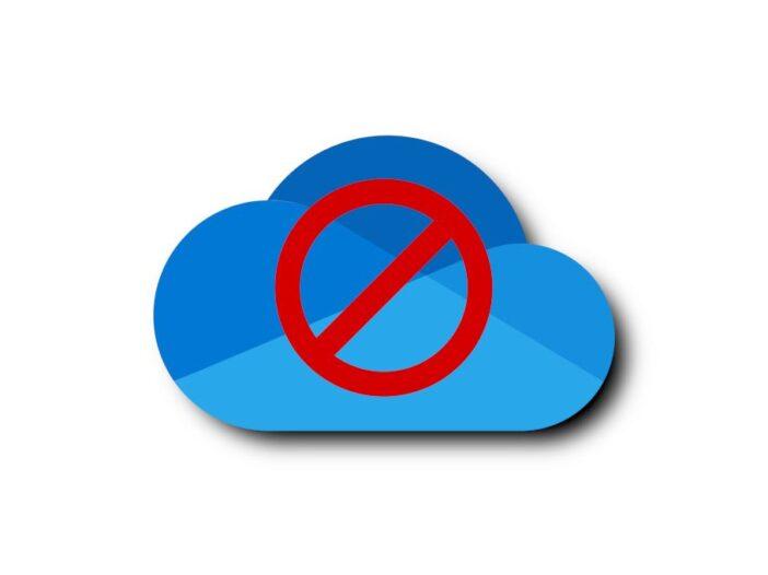 désactiver OneDrive Windows 10