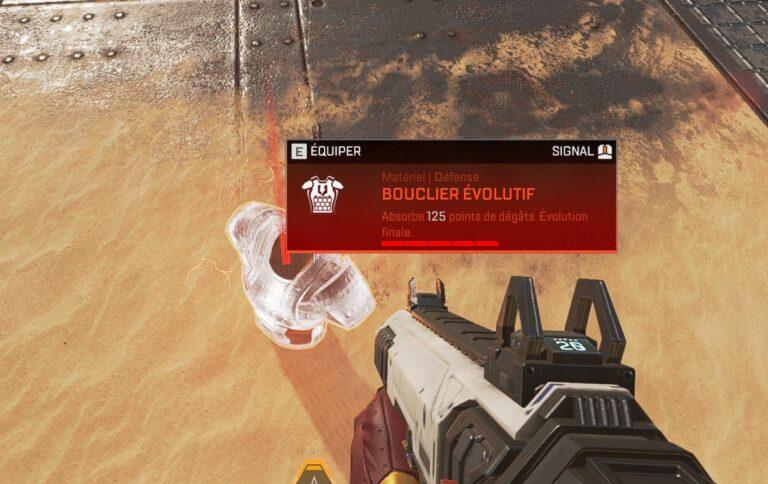Comment fonctionne le bouclier évolutif Apex Legends ? Bouclier rouge !