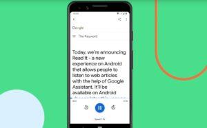 Comment lire les pages web à haute voix avec Google Assistant
