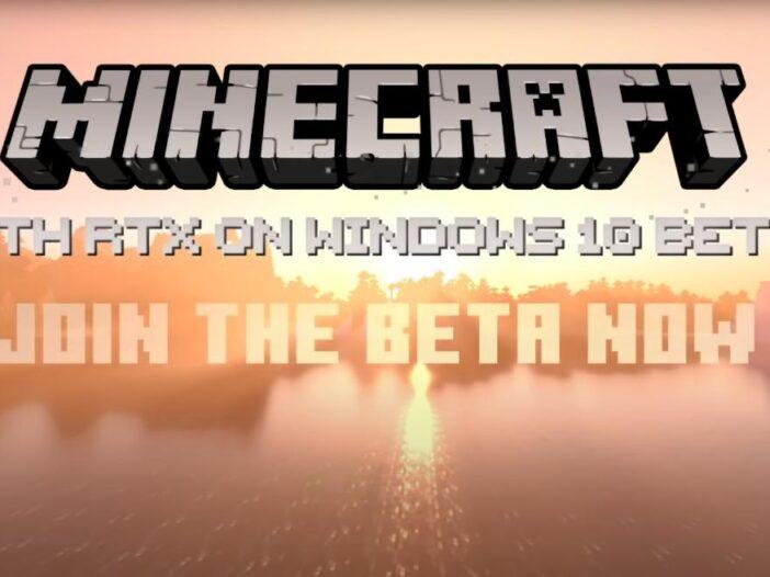 Minecraft - le Ray Tracing disponible sur PC en Beta