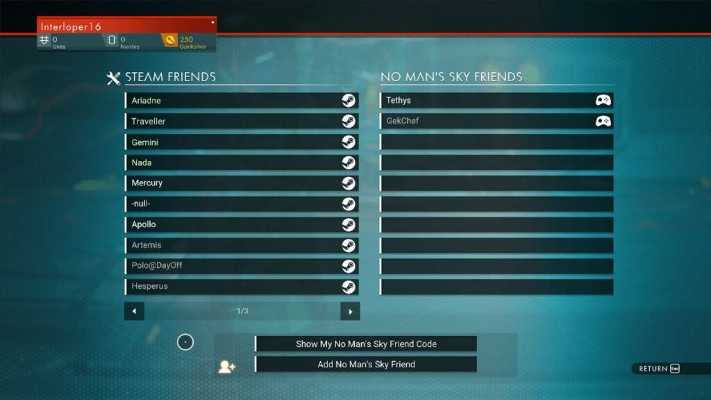How to play CrossPlay with your friends on PS4, Xbox or Windows 10 on No Man's Sky