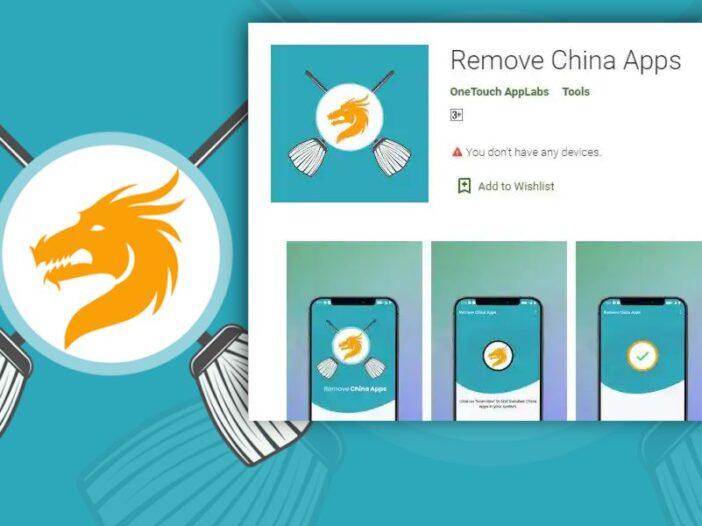 Google retire une App qui supprimait les logiciels chinois