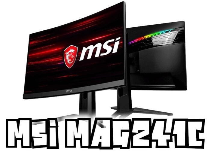 MSI Optix MAG241C 24