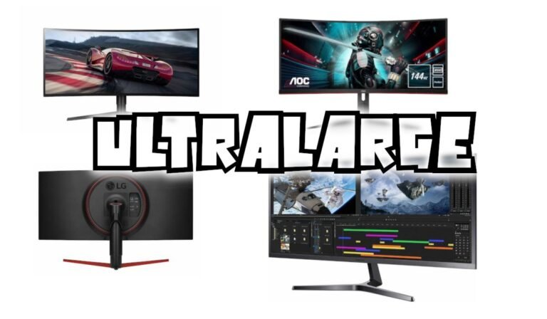 Meilleur écran 34 pouces Ultralarge : quel 34″ choisir ? 144 Hz
