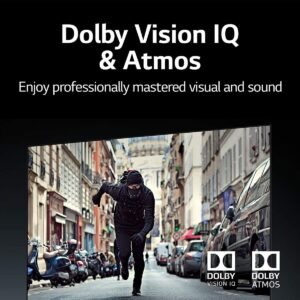 Dolby Vision IQ et Atmos