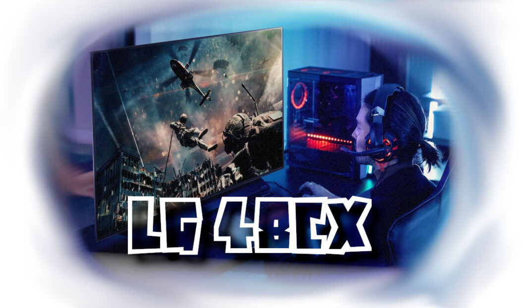 LG 48CX Test