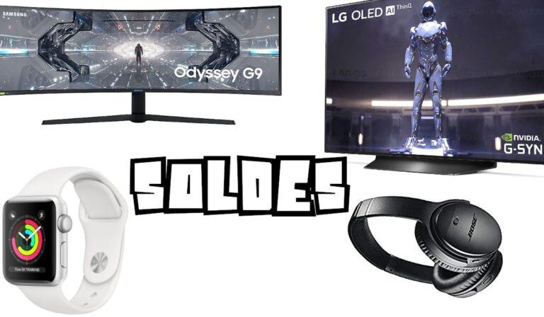 Soldes été 2020 : bons plans High Tech, Gaming, TV, informatiques