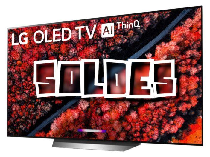TV LG 55 pouces OLED 120 Hz à saisir - Solde Télévision