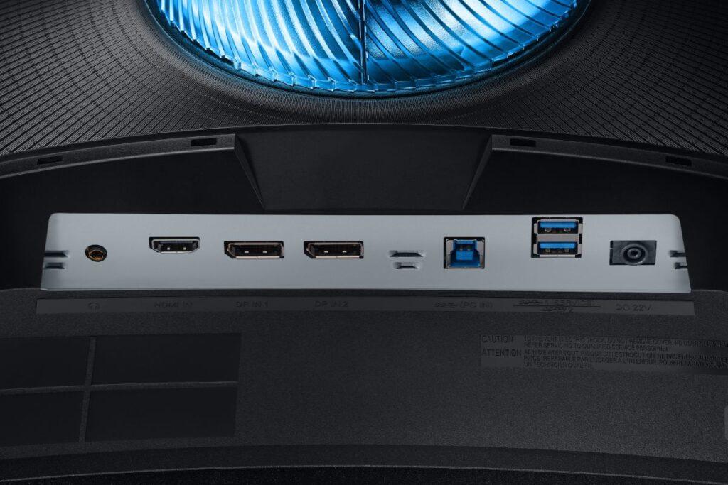 connectique-Samsung-Odyssey-G7