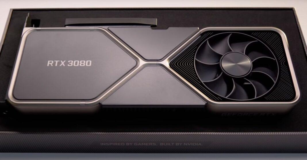 RTX 3080 Founders Edition à nouveau disponible retour en stock