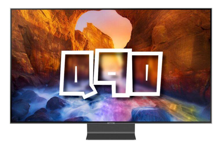 Samsung Q90 / Q90R QLED : Test et meilleur prix