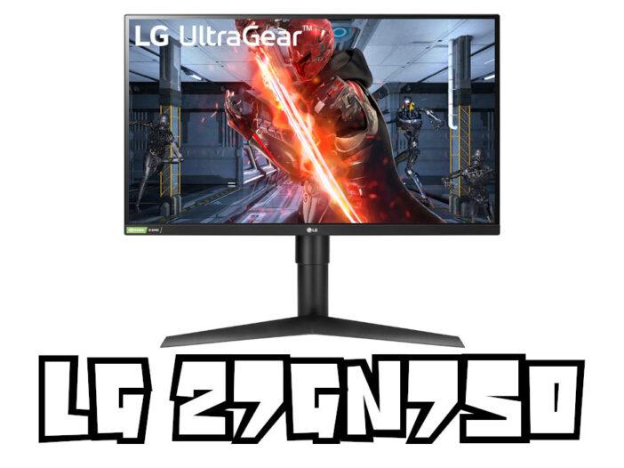 LG 27GN750