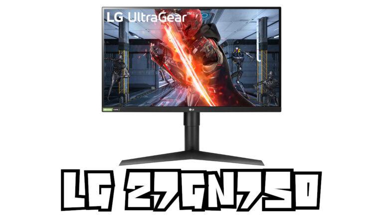 LG 27GN750-B Test : 240 Hz avec une dalle IPS 1080p sur 27″