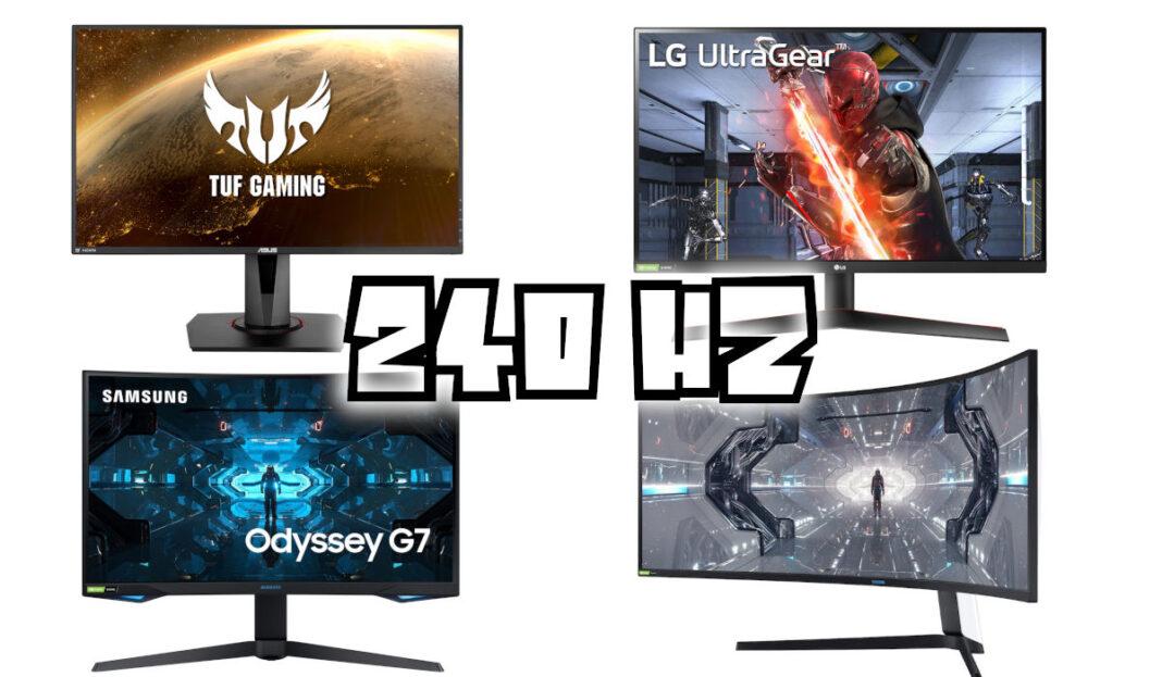 Meilleurs écrans 240Hz