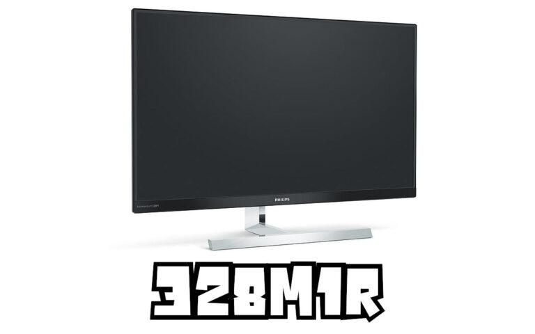 Philips 328M1R : le premier moniteur en HDMI 2.1 ?