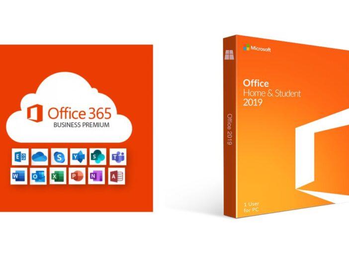 Comment acheter Office 2019 ou Microsoft 365