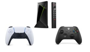 Shield TV : comment connecter la manette PS5 / Xbox Series X