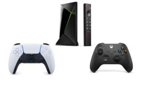 Shield TV : comment connecter la manette PS5 / Xbox Series X