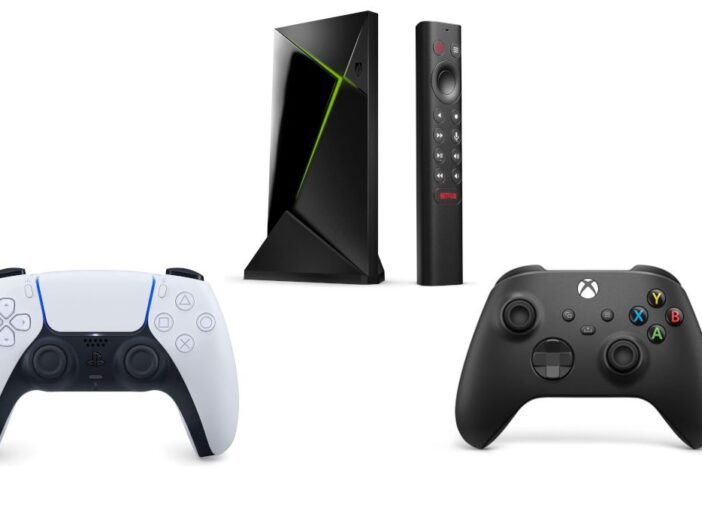 NVIDIA Shield : les manettes Xbox Series X|S et PS5 maintenant compatibles