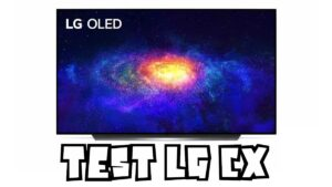 Test LG CX