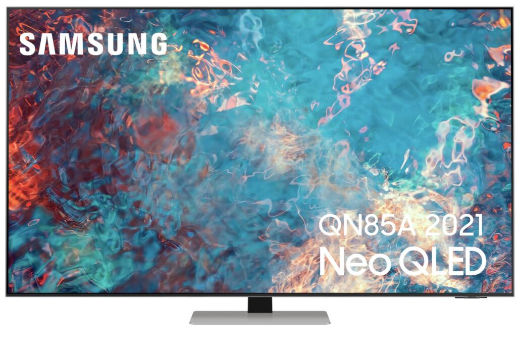 produit TV - Samsung QN85A 2021 Neo QLED