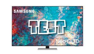 Test Samsung QN85A Serie 8 Neo QLED