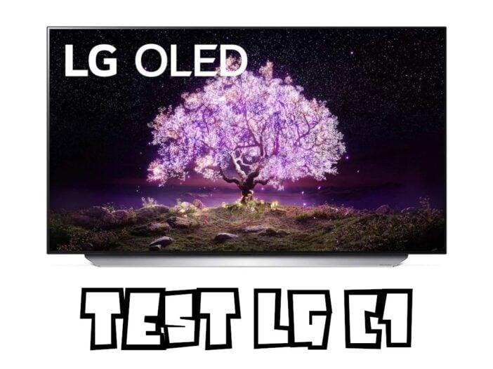 Test LG C1