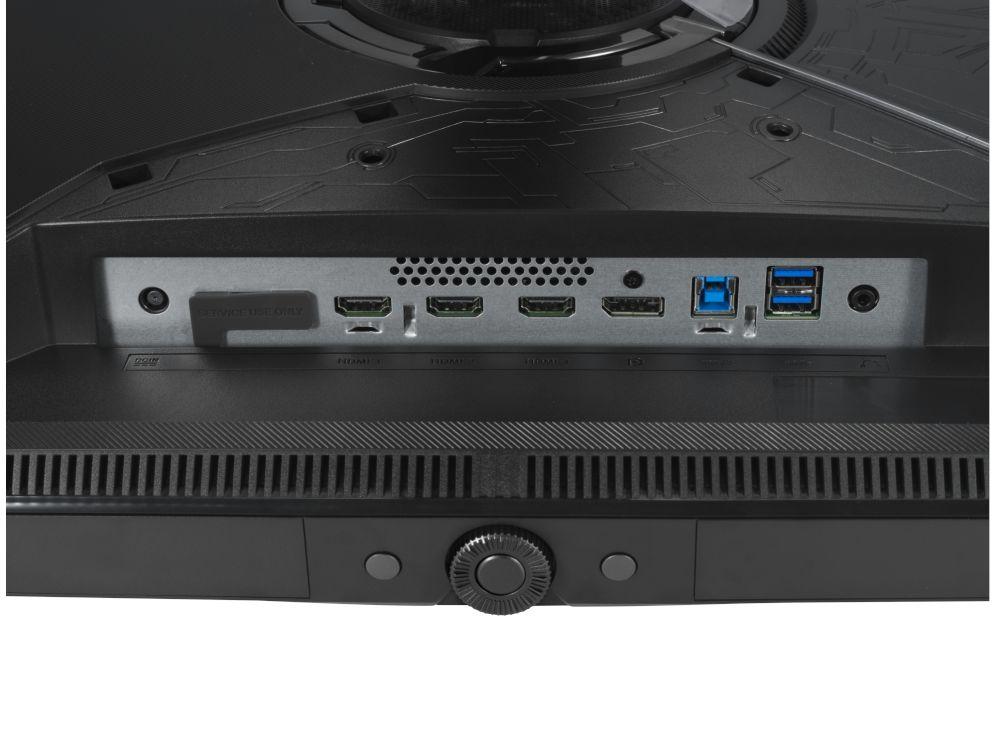 connectiques Asus PG32UQX