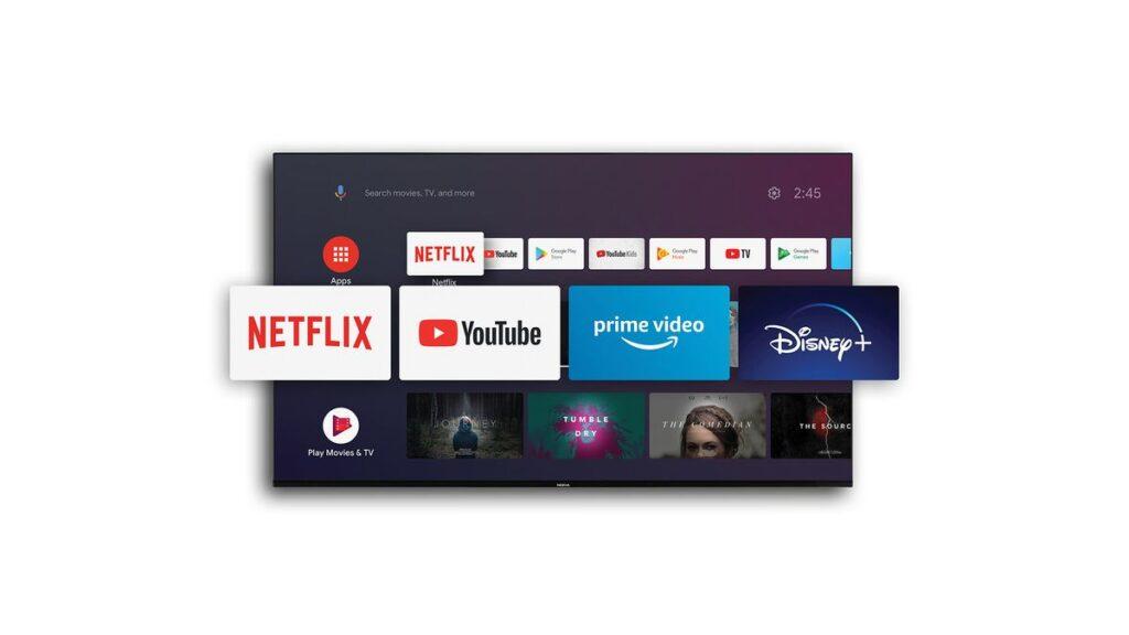 Android TV et app disponibles sur le Nokia Smart TV 5500A