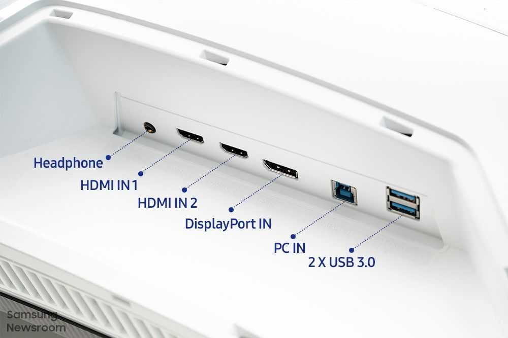 Connectiques Odyssey Neo G9