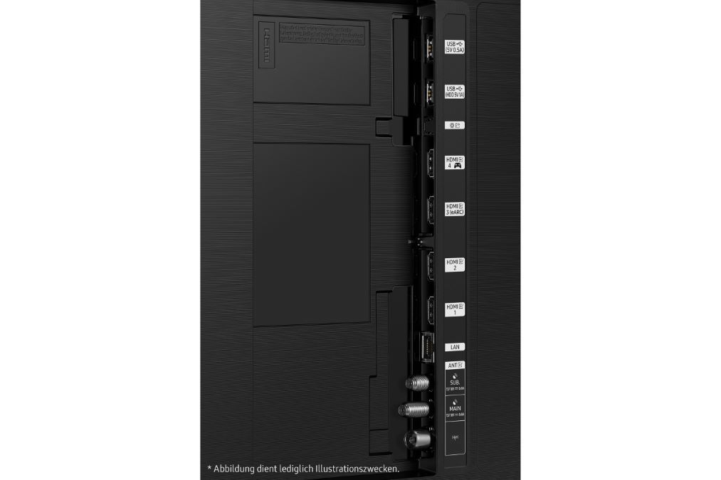 Connectiques Samsung QN90A