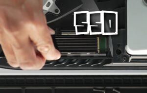 La PS5 ajoute le support de l'extension de stockage SSD aujourd'hui
