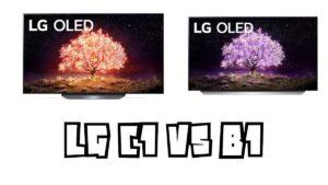 LG C1 vs B1