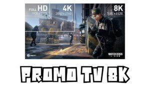 Promo TV 8K
